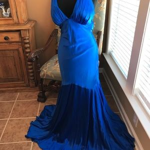 Gorgeous Royal Blue Evening Gown